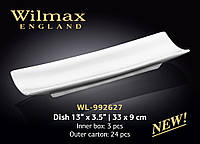 Блюдо прямоугольное Wilmax 33 х 9 см WL-992627