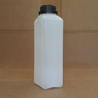 Канистра пластиковая с крышкой 2л (Флакон), фото 1
