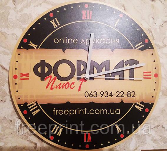 Изготовление брендированных настенных часов , фото 1