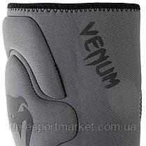 Защита колена VENUM KONTACT GEL KNEE PAD GREY, фото 2