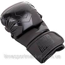 ПЕРЧАТКИ ТРЕНИРОВОЧНЫЕ MMA RINGHORNS CHARGER SPARRING GLOVES BLACK, фото 2