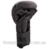 ПЕРЧАТКИ ТРЕНИРОВОЧНЫЕ MMA RINGHORNS CHARGER SPARRING GLOVES BLACK, фото 3