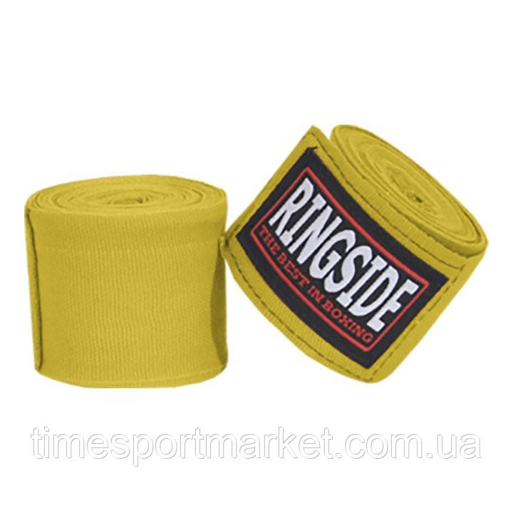"""Бинты RINGSIDE MEXICAN-STYLE BOXING HANDWRAPS - 180"""" GOLD (4,5 м)"""