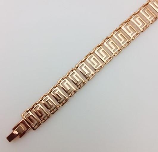 Браслет, длина 19 см ширина 11 мм ювелирная бижутерия