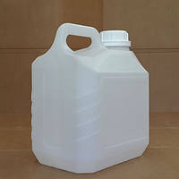 Канистра пластиковая с крышкой 3 литра, фото 1