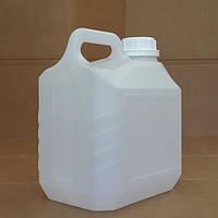 Канистра пластиковая с крышкой 3 литра