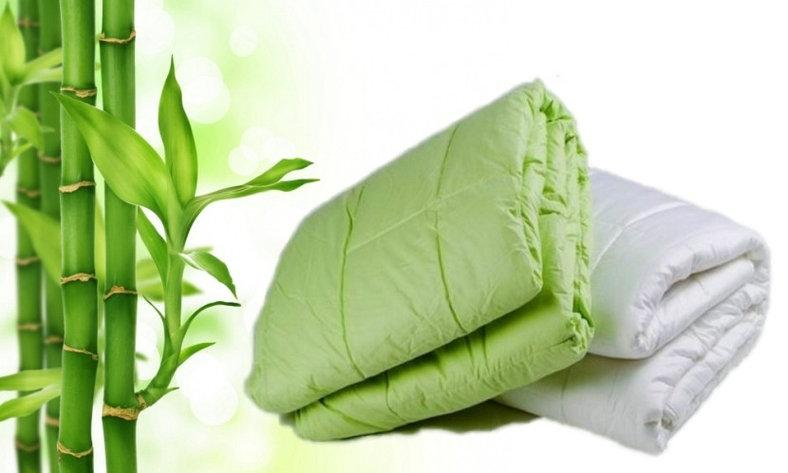 Одеяло бамбук евро