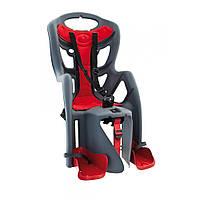 Велокрісло Bellelli Pepe на багажник Сіре