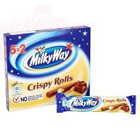 Шоколадные батончики Milky Way Crispy Rolls Упаковка