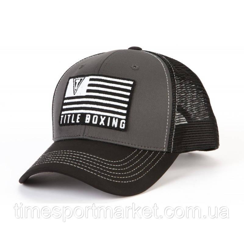 Кепка TITLE BOXING RANGER ADJUSTABLE CAP GREY