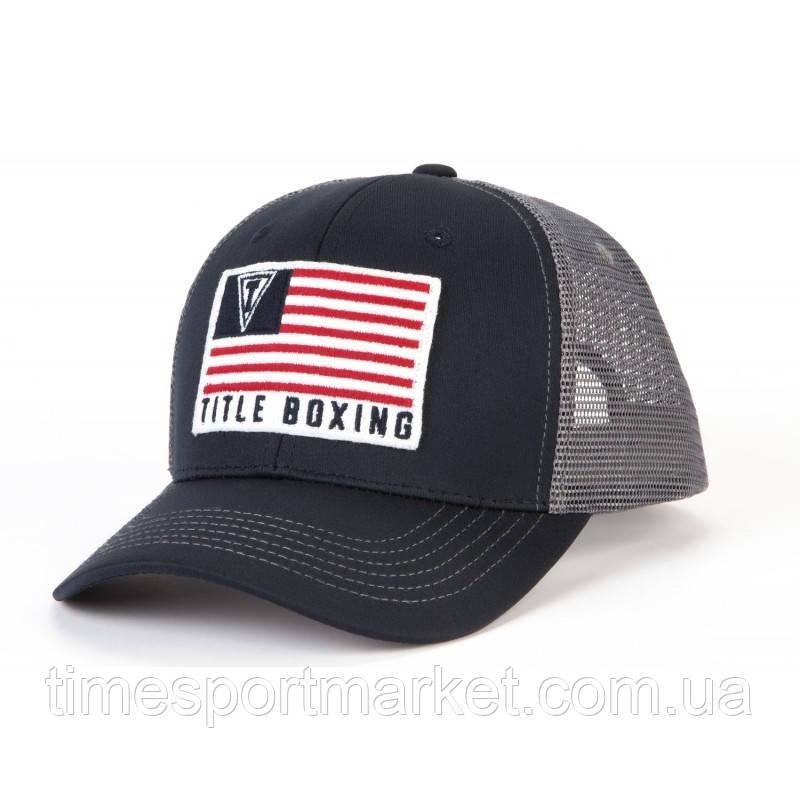 КЕПКА TITLE BOXING RANGER ADJUSTABLE CAP NAVY