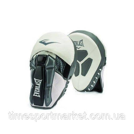 Лапы EVERLAST PRIME LEATHER MITTS WHITE, фото 2