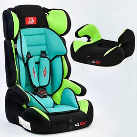 Автокресло универсальное Е 4445 Цвет чёрно-зелёный 9-36 кг Joy
