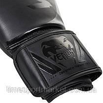 Перчатки тренировочные Venum Challenger 2.0 Boxing Gloves Black/Black, фото 2