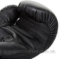 Перчатки тренировочные Venum Challenger 2.0 Boxing Gloves Black/Black, фото 3