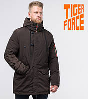 Tiger Force 54120   мужская зимняя парка кофе