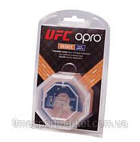 Капа OPRO BRONZE UFC HOLOGRAM BLACK, фото 3