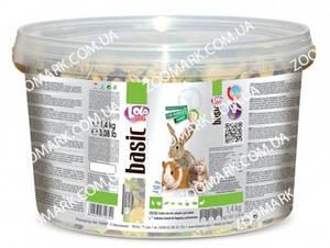 Корм с овощами для грызунов и кроликов экзотический 1,4 кг Lolo pets