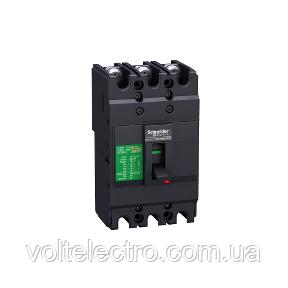 EZC100N3080 Автоматический выключатель Easypact EZC100N - TMD - 80 A - 3 полюса