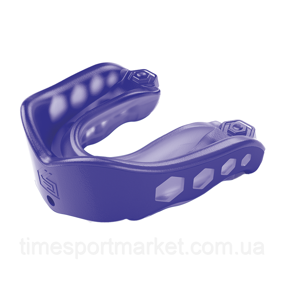 Капа SHOCK DOCTOR GEL MAX MOUTHGUARD PURPLE