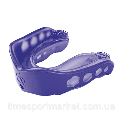 Капа SHOCK DOCTOR GEL MAX MOUTHGUARD PURPLE, фото 2