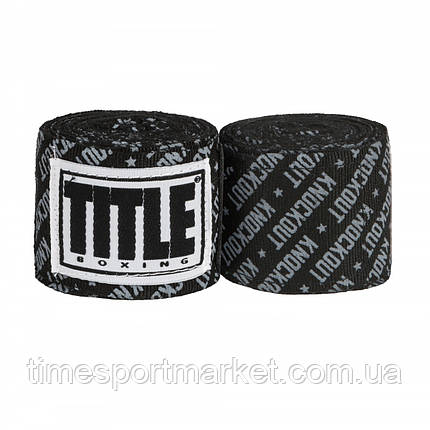 """Бинты TITLE PRINT MEXICAN STYLE 180"""" HANDWRAPS KNOCKOUT (4,5 м), фото 2"""