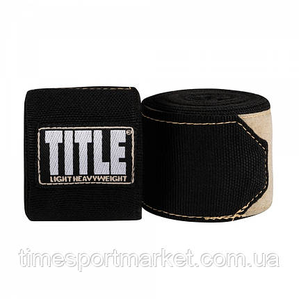 Бинты TITLE P4P STRETCH-WEAVE HAND WRAPS (4,5 м), фото 2
