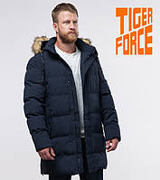 Tiger Force 76420 | мужская зимняя куртка темно-синяя