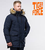 Tiger Force 76447 | парка зимняя мужская синяя