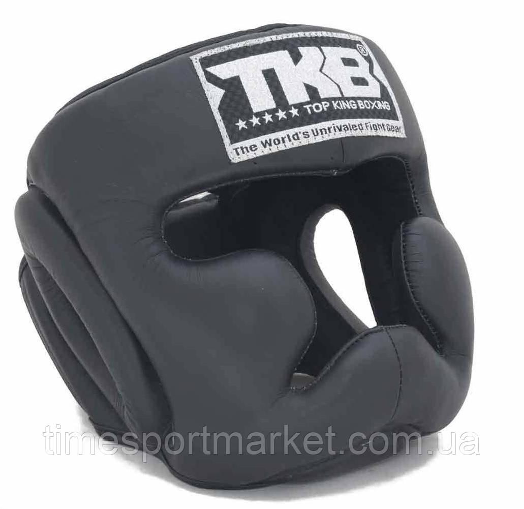 Шлем тренировочный TOP KING HEAD GUARD FULL COVERAGE TRAINING BLACK