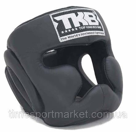 Шлем тренировочный TOP KING HEAD GUARD FULL COVERAGE TRAINING BLACK, фото 2