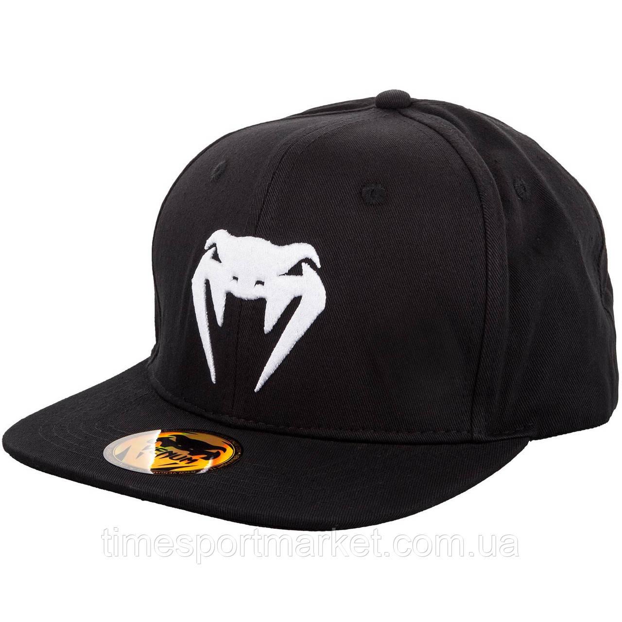 Бейсболка VENUM SNAPBACK CAP BLACK/WHITE