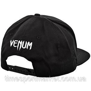 Бейсболка VENUM SNAPBACK CAP BLACK/WHITE, фото 2