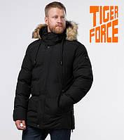 Tiger Force 78270 | мужская зимняя куртка черная