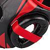 Шлем для соревнований VENUM CHALLENGER OPEN FACE HEADGEAR BLACK/RED, фото 2