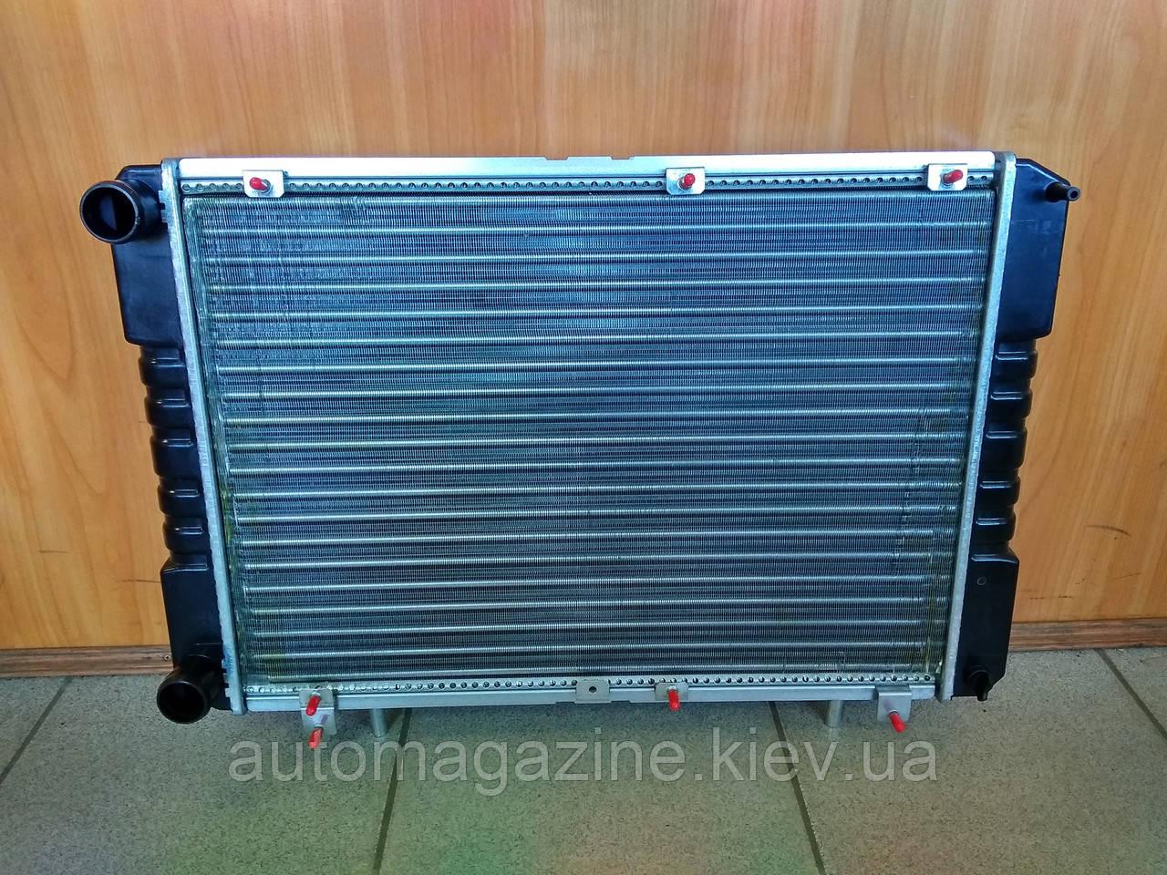 Радиатор охлаждения алюминиевый Газель Бизнес (3-х рядный)
