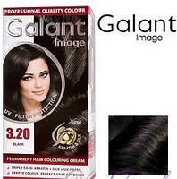 Стойкая крем-краска для волос Galant Image тон 3.20 Черный, фото 1