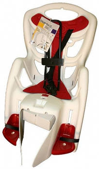 Велокрісло Bellelli Pepe на багажник Біле