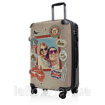Дорожный чемодан Hauptstadtkoffer BLNBAG World Foto Midi коричневый, фото 2