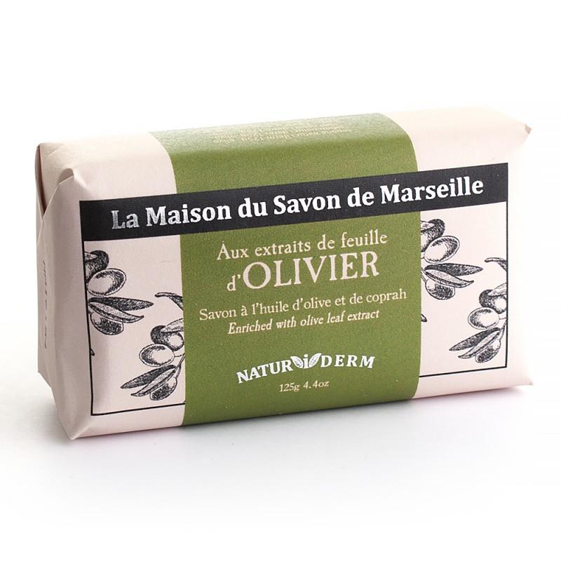 Мыло марсельское La Maison du Savon Marseille NATUR I DERM - OLIVIER 125 г M12603