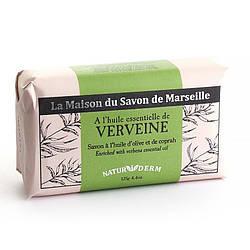 Мыло марсельское La Maison du Savon Marseille  - NATUR I DERM - VERVEINE 125 г M12617