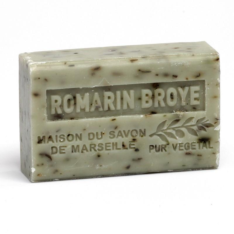 Мыло марсельское La Maison du Savon Marseille - SAV125 -ROMARIN BROYE 125 г M11505