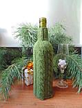 Декор вязанный чехол для бутылки вина,винный аксессуар, фото 6