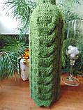 Декор вязанный чехол для бутылки вина,винный аксессуар, фото 7