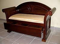 Дубовая диван- софа.