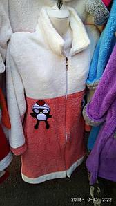 Женский теплый халат короткий на молнии 17 (12)