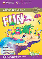 Fun for Movers 4th Edition Student's Book with Online Activities, Audio and Home Fun Booklet