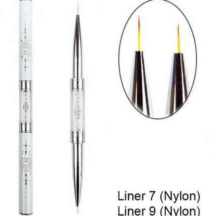 Кисть Komilfo Double Liner 7 (Nylon)/Liner 9 (Nylon), фото 2
