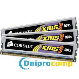 Оперативная память Corsair DDR3 4GB PC3-12800 (Kit of 2x2) XMS3 ( TR3X6G1600C9)