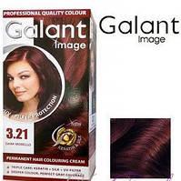 Стойкая крем-краска для волос Galant Image тон 3.21 Черная вишня